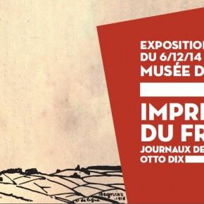 """Exposition """"Impressions du front"""" - Prolongée jusqu'au 5 avril 2015"""