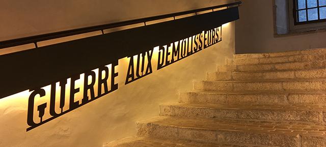 Exposition / Guerre aux démolisseurs / Victor Hugo et la défense du patrimoine