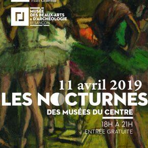 Nocturne aux musées - Le 11 avril de 19h à 21h