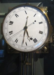 Cadran du régulateur décimal de Louis Berthoud