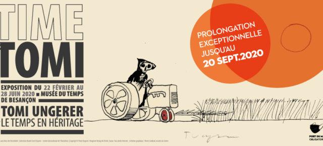 L'exposition « Time is Tomi. Tomi Ungerer, le temps en héritage » rattrape le temps perdu