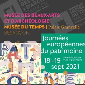 Les journées européennes du patrimoine / Les 18 et 19 septembre